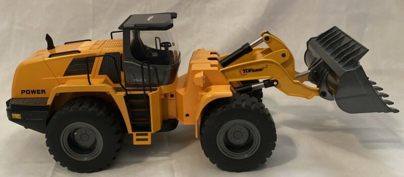 Top Race Front Loader TR-213, 22 Channel Heavy Duty Metal RC Loader