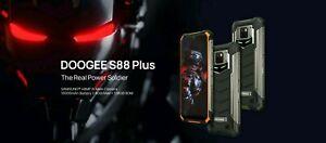 DOOGEE S88 Plus Rugged Smartphone 10000mAh Battery 8GB RAM Octa Core