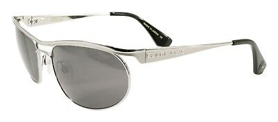NEW Black Flys Sunglasses FIRE FLY 3 MATTE SILVER POLARIZED SMOKE LENS LIMITED - Fire Flys