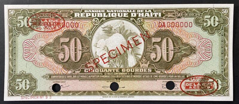Haiti Specimen Banknote P 194s