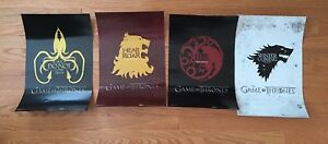 Game of Thrones 8x16 posters. Winter is Here!