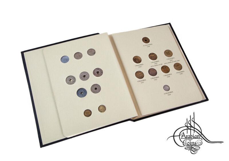 Lebanon 1924-1941 Coin Album inc. 1925 1929 1931 1933 1934 1936 1937 1940