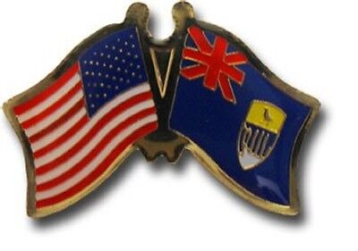 Wholesale Pack of 50 USA American St Helena Friendship Flag Hat Cap lapel Pin