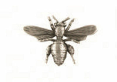 A.E. Williams Fine Brittish Pewter Lapel Hat Pin Honey Bee Insect #35132