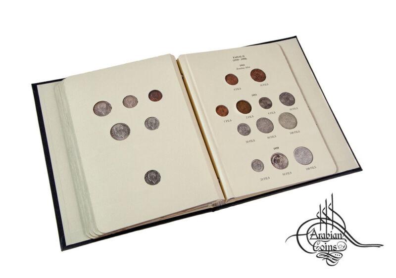 Iraq 1931-1955 Coin Album inc. 1932 1933 1936 1937 1938 1939 1943 1953 Kingdom