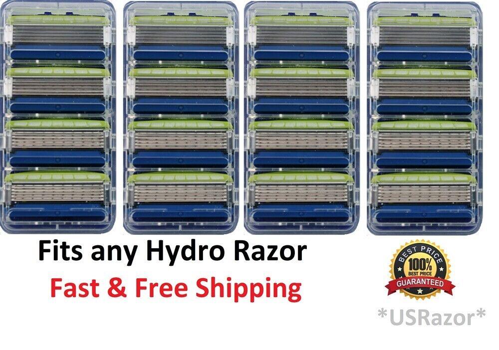 16 Schick Hydro5 Sensitive Razor Blades fit Hydro 5 Power Re