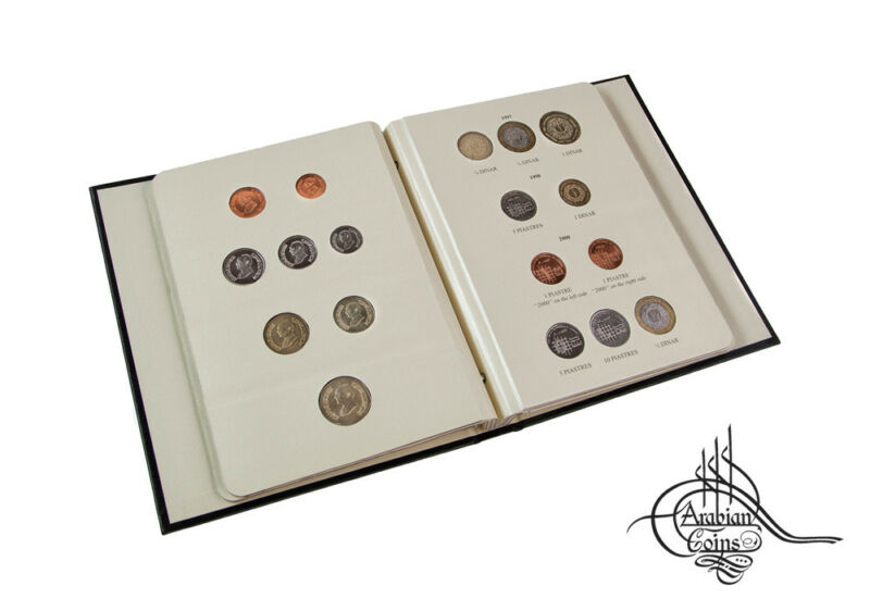 Jordan 1992-2009 Coin Album inc. 1993 1994 1996 1997 1998 2000 2004 2006 etc