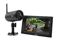Abus TVAC14000A 7-Inch Home Video Wireless Surveillance Kit - Black
