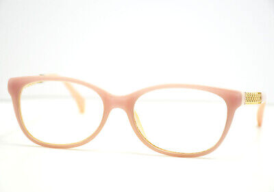 Chanel 3321 c888 Womens Glasses Frames Spectacles Pink with Gold Chain (Womens Chanel Glasses)