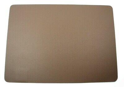 Braune Leder Platz (ASA Tischset braun Lederoptik 33 x 46 cm Platzset Kunstleder)