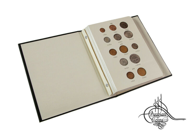 Jordan 1968-1991 Coin Album inc. 1970 1972 1974 1975 1977 1978 1981 1985 etc