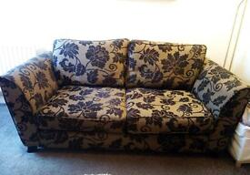 Three seated sofa for sale - good condition £150