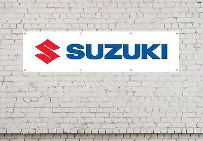 SUZUKI LOGO workshop, garage, office or showroom pvc banner