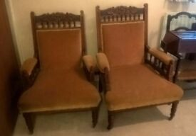 Pair of classic chairs