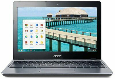 "Acer C720-2844 11.6"" LED Chromebook - Intel Celeron 1.4GHz - 4GB RAM - 16GB SSD"
