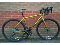 Genesis Croix de fer tourer road steel bike 50cm frame RRP1100