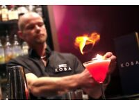 Cocktail Bar - Part time Bartender required at KOBA - Brighton