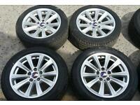 2014 BMW 5 series F10 F11 sport alloys M badges wheels run flat tyres e60 T5 van vw 5x120