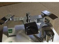 COOKE & LEWIS WATERFALL CHROME BATH SHOWER MIXER TAP