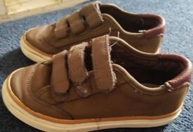 Zara Brown Shoes For Kids, Size 26/27