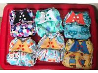 Bumgenius Freetime reusable cloth nappies birth to potty