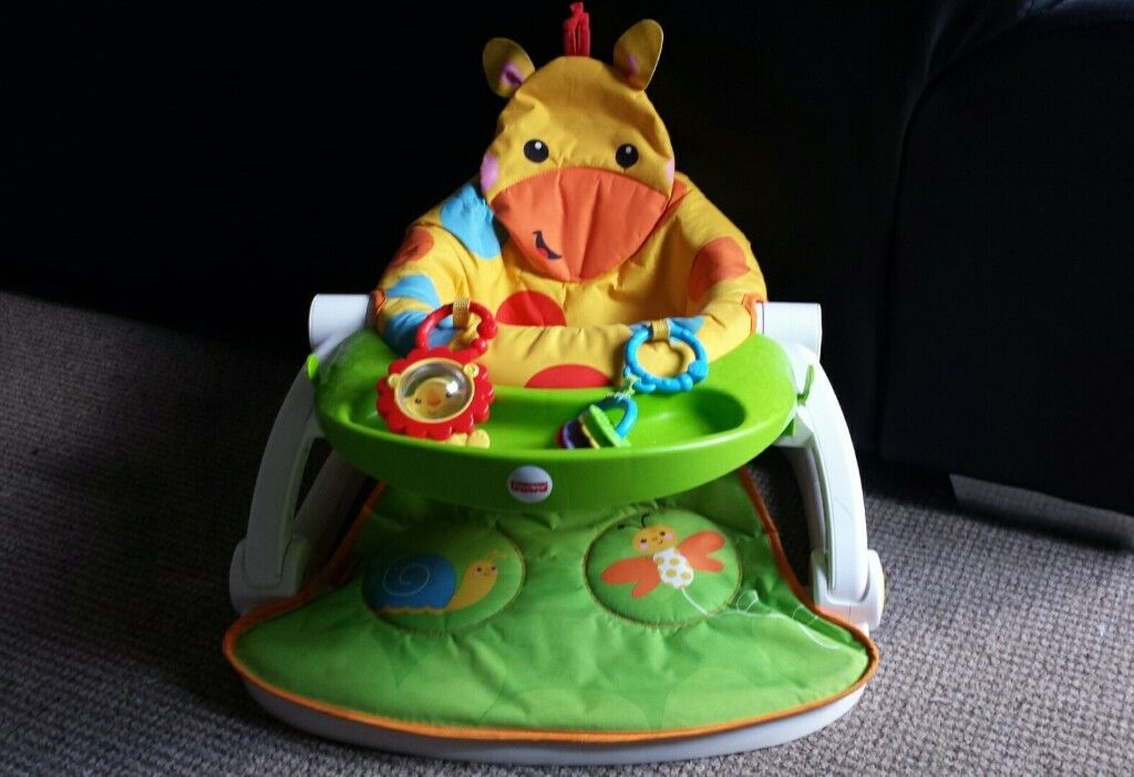 Fisher Price giraffe booster seat