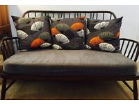 Retro Vintage ERCOL Jubilee Sofa in great condition includes made to measure base cushion