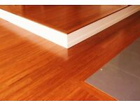 Cheap Laminate Floor Fitting £7 Per Square Metre including Scotia fitting.