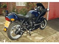 BMW K100RS 16 valve. Low mileage. Original Equipment including dealer fitted low seat conversion.
