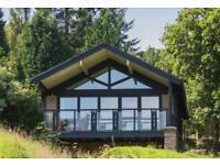Luxurious week in one bedroom lodge (sleeps 4) at Cameron House