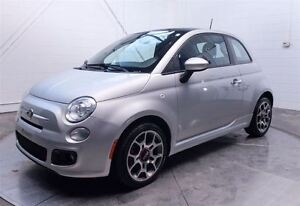 2012 Fiat 500 SPORT MAGS TOIT PANORAMIQUE