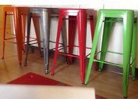 New solid bar stools durable metal
