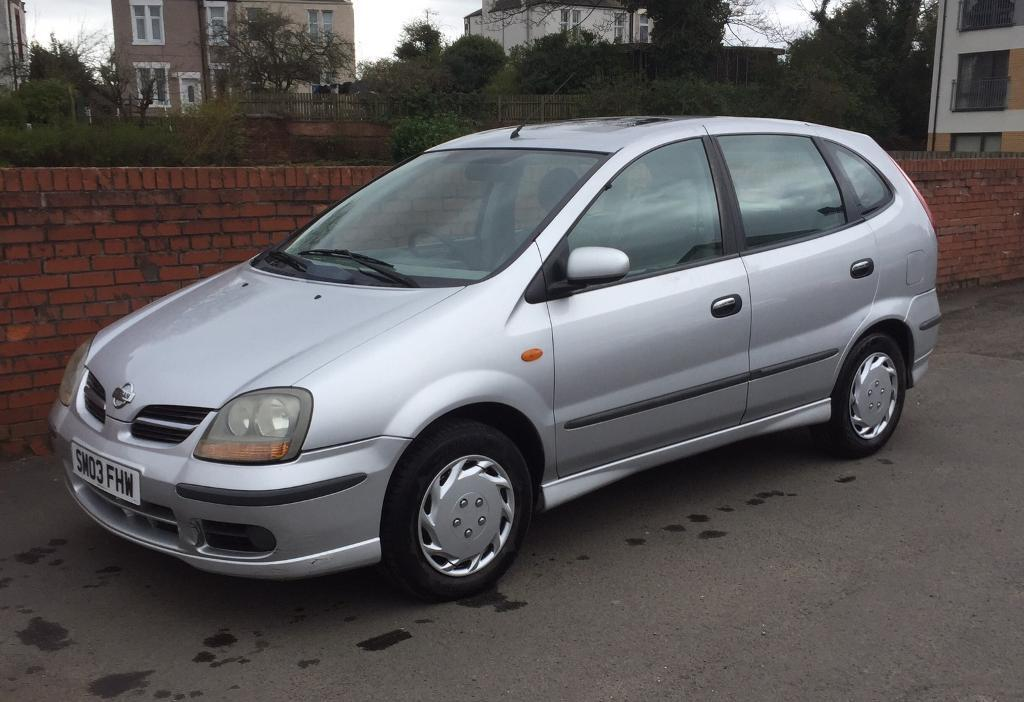 nissan almera tino se 2 2 di 1 years mot in east end glasgow gumtree. Black Bedroom Furniture Sets. Home Design Ideas