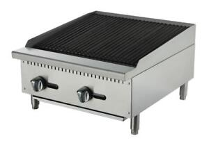"Charcoal Broiler/Charbroiler 24"" and 36"" Brand New Gas Char Broiler and Radiant Cooking Equipment"