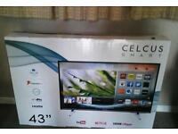 "Celcus 43"" full hd led smart tv"