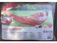 BNWT WOVEN COTTON RICH CLOTH HAMMOCK BRAND NEW 200cm x 100cm