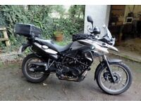 BMW F700GS, 5,500 miles, loads of extras, excellent condition