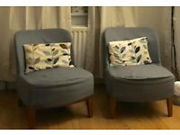 Stockholm easy chair from Ikea (with spare replacement covers)