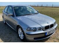 BMW, 3 SERIES, Hatchback, 2003, Manual, 1796 (cc), 3 doors
