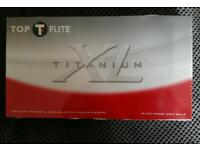 Top flite golf balls x18. New and sealed.