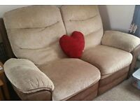 3 piece reclining suite