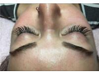 Individual Cashmere Eyelash extensions