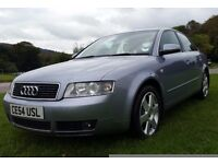 Audi A4 1.9 TDI 2004. AUTO. 88000 MILEAGE. LONG MOT 12months. Fully loaded excellent runner.