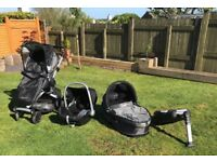 Quinny buzz travel system pushchair crib and car seat