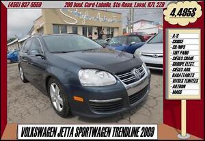 2009 Volkswagen Jetta SportWagen A/C TOIT PANO CRUISE