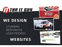 Web design, graphic design for print and www