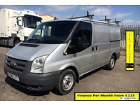 EASTER SALE!!Ford Transit 3.5 Ton Van 2.2 280-1 Owner-FSH -1YR MOT- 70K MILES -Elec Mirrors /Windows