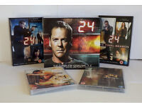 DVDs - 24 complete TV Series Collection, Seasons 1-9 Total 53 discs