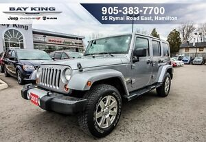 2013 Jeep WRANGLER UNLIMITED SAHARA, NAVI, AUTO, REMOTE START, H