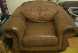 Lovely Soft Leather arm chair